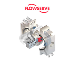 Flowserve Logo with Image of Product below