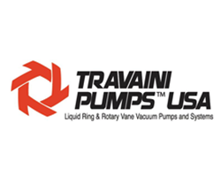 Travaini Pumps USA, Liquid Ring & Rotary Vane Vaccum Pumps and Systems Logo